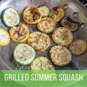 Grilled Summer Squash