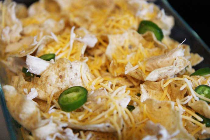 Chicken Nachos Recipe with Jalapenos