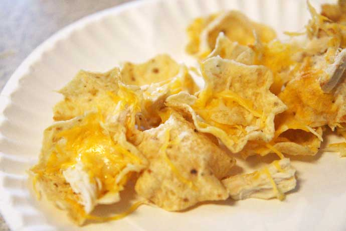 Kids Chicken Nachos