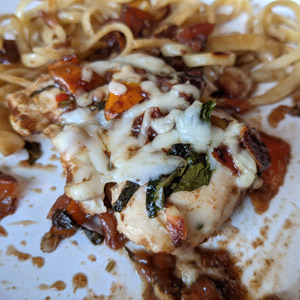 Easy Balsamic Bruschetta Chicken Bake Recipe